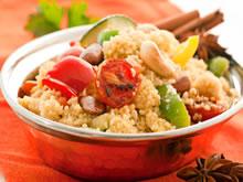 couscoussalade met gegrilde groenten