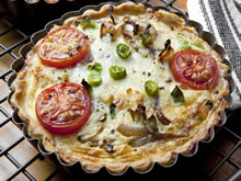 quiche met witloof