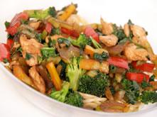 Afbeeldingsresultaat voor Gewokte kip met groentes